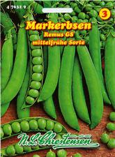 Markerbse,Remus GS,mittelfrüh,Saatgut,Pisum sativum,Gemüse,Chrestensen,NLC 3b