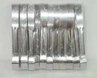Delta Airlines Stainless Steel Beverage Tongs w/Logo Lot of 12 NEW in Package