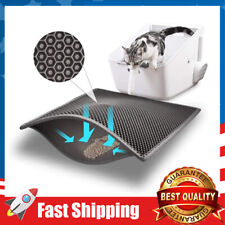 Cat Litter Mat Litter Trapper 24�X15�,2-Layer Sifting Easy Clean Scatter Control