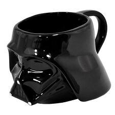 Star Wars Darth Vader negros pequeños 3D Taza Regalo Nuevo Oficial Gratis P + P