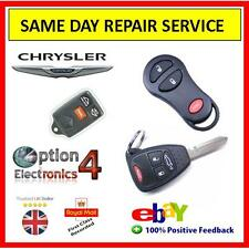 Chrysler Key Fob Repair .. Same day Repair Service, Trusted Repairer 100% F/B