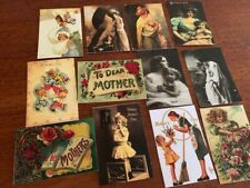 Mother'S Day Postcards*Vintage Style *12 Different Images*Envelopes 12
