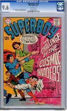 Superboy   #153   CGC   9.6   NM+   white pages