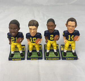 Forever Collectibles Michigan Magnetic Mini Bobble heads BRADY WOODSON HOWARD
