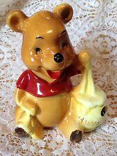 Rare Vintage Disney Winnie the Pooh Bear Ceramic Porcelain Figurine