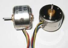 2 X Miniature Stepper Motor - 5V - Driver Circuit Schematic - 2 Phase - 20 Steps