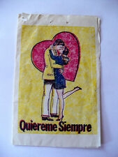 Rare Vintage Spanish Love Potion Wrapper Valentine Good Condition Ca.1950 Used