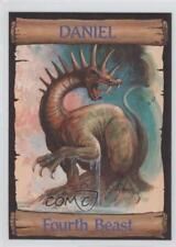 1989 re-Ed Bible Cards Daniel #14 Fourth Beast Non-Sports Card 0q3