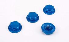 ROVAN LT CNC metal tyre nut wheel cap BLUE for 1/5 Losi 5ive-T