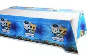 OCTONAUTS TABLE CLOTH COVER TABLECLOTH BEAR BARNACLE BIRTHDAY PARTY LOLLY LOOT