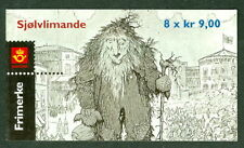 Norway #1330a (H124) Giant Troll Fairy Tale booklet, Vf