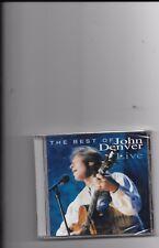 """JOHN DENVER, CD """"THE BEST OF JOHN DENVER LIVE"""" NEW SEALED"""