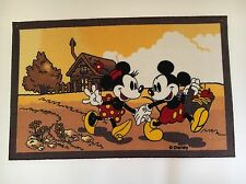 "New - Disney Mickey Minnie Area Rug 45"" x 70"""