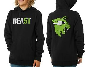BEAST 51 Hoodie Kids Mr Beast Sweatshirt Mr Beast Merch Area 51 Kids Hoodie