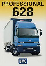 Prospekt BMC 628 Professional Curtainsider 8/02 2002 truck brochure Autoprospekt