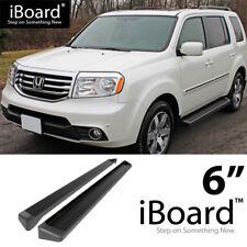 """Running Boards 6"""" For 09-15 Honda Pilot Sport Utility 4-Door & 09-13 Acura MDX"""