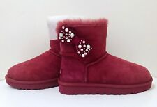 644cf1145a2 Sheepskin Red Boots for Women for sale | eBay