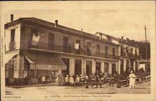 Medea Algeria Les Nouvelles Maisons Place du Marche c1915 Postcard