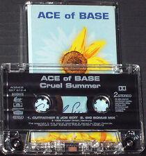 Ace Of Base Cruel Summer CASSETTE SINGLE Electronic Synth-pop Dance