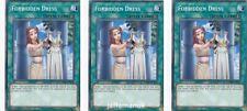 3 x Forbidden Dress LEHD-ENB18 Common 1st Ed  YUGIOH Cards