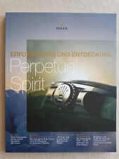 Erforschung und Entdeckung Rolex Perpetual Spirit Sonderausgabe super Fotos rar