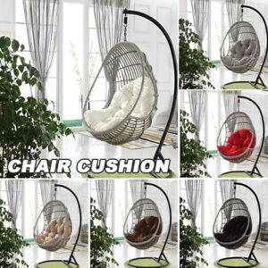 Hanging Egg Chair Cushion Swing Seat Pads Garden Patio Indoor Outdoor(No chiar)