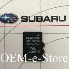 2016 2017 Subaru Legacy Outback Limited Premium Navigation Micro SD Card U.S Map