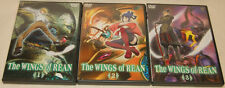 The Wings of Rean Complete 2007 Series Volume 1 2 3 DVDs OUT OF PRINT AUTHENTIC