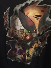 Marvel Zombies Faces Long-Sleeve T-Shirtt 2XL NEW /w Tags