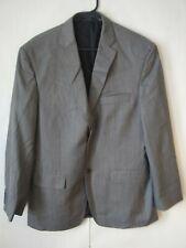 Haggar Mens Suit up System 2 Button 7 Pckt Herringbone Blazer Size 40R
