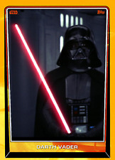 Topps Star Wars Card Trader Naboo Series 5 Base Variant A DARTH VADER #1