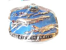 UNITED STATES AIR FORCE, AIR SUPERIORITY BELT BUCKLE, THIS IS A LICENSED ITEM