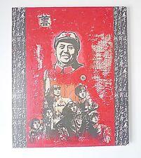 TABLEAUX mao zedong propagande Huile sur toile signé