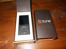 Microsoft Zune Black 4Gb New !