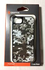 GRIFFIN PixelCrash iPhone 5/5s/SE Hard-Shell Case QR Camo GB35527 NEW-OLD-STOCK!