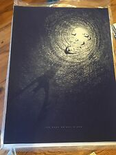The Dark Knight Rises Mondo Poster 2014 by Kevin Tong #21/275 Batman Collectable