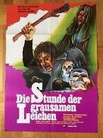 Stunde der grausamen Leichen (Kinoplakat/Filmplakat '74) - Paul Naschy / Horror