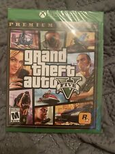 New listing Grand Theft Auto V - Premium Online Edition (Xbox One, 2014) Factory Sealed!
