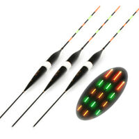 3Pcs Fishing Floats LED Electric Luminous Light Fishing Bobber Without Battery