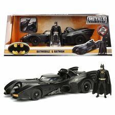 Batman 1989 Movie Batmobile Vehicle & Figure 1:24 Scale Die-Cast MISB 2020 Jada