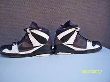 Nike 354704-101 Zoom Air Oncore High Top Black Fashion Sneakers Men's US 12