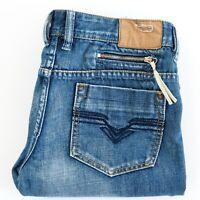 DIESEL Womens ZATINY Blue Jeans Label Size W30 x L32 Boot Cut Low Rise EUC