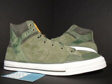 2010 CONVERSE POORMAN WEAPON HI LICHEN GREEN WHITE ORANGE UNDEFEATED UNDFTD 11.5