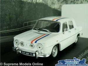 RENAULT 8 GORDINI CAR MODEL 1:43 SIZE 1968 IXO ATLAS EQUIPE DE FRANCE DE SKI T4Z