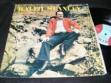 RALPH STANLEY A Man And His Music BLUEGRASS Roots Music REBEL LP Clean 1974!