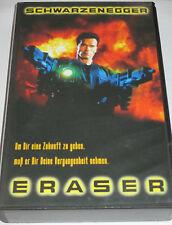 Eraser - VHS/Action/Arnold Schwarzenegger/James Caan/Warner