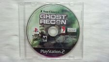 PS2 Game: Tom Clancy's Ghost Recon (Disc Only)