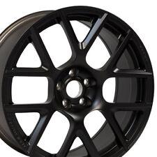 """20"""" OEM Wheels For Dodge Charger Magnum Challenger Chrysler 300 Black Rims Set 4"""