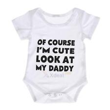 Cotton Newborn Baby Girls Boys Clothes Bodysuit Romper Jumpsuit Playsuit Outfits