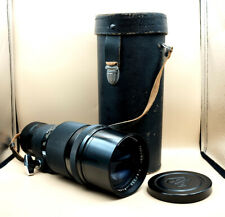 Vintage PENTAX TAKUMAR 300mm F4 Telephoto Lens for M42 fit with case